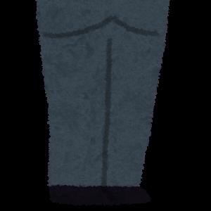 お通夜や葬式の男性の礼服ズボン