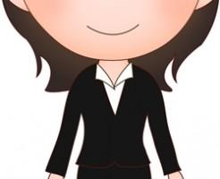 入社式スーツ女