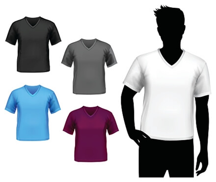 YシャツのインナーTシャツ